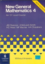 New General Mathematics Book 4 Without Answers