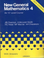 New General Mathematics Book 4 With Answers