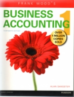 Frank Woods Business Accounting Vol 1-13th Edition