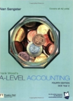 Frank Woods A-Level Accounting Gce Year 2 4th Edition