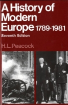 A History of Modern Europe 1789-1981