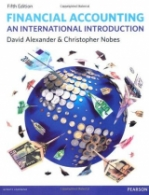 Financial Accounting An International Introduction