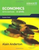 A Level Economics for Edexcel
