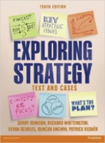 Exploring Strategy Text and Cases 10th Revised Edition