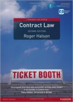 Contract Law Uk Edition (Longman Law Series)