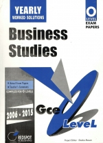 GCE O Level Business Studies 2006 - 2015 Yearly Worked Solutions (Redspot)