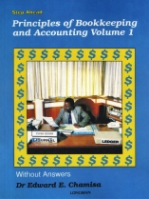 Step Ahead Principles of Bookkeeping and Accounting Vol 1 Without Answers