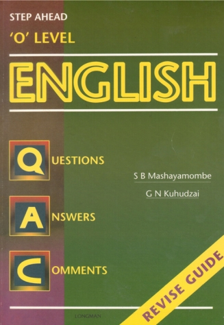 Step Ahead O Level English Revise Guide