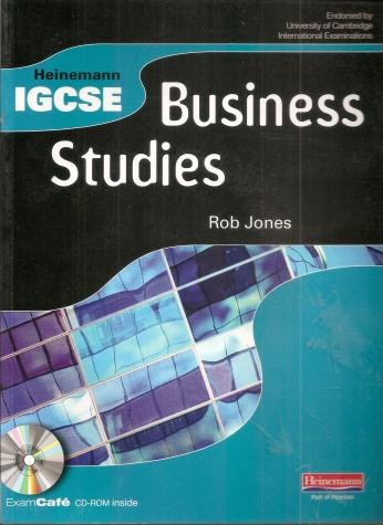 Heinemann IGCSE Business Studies